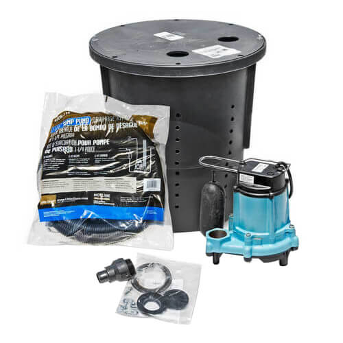 CS-SS Pre-Packaged Crawl Space Sump System Product Image