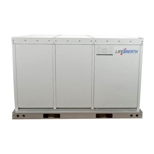 1500E-ECM Large Outdoor Commercial Heat Recovery Ventilator, Fan Defrost, 1550 CFM (Exterior Rooftop Design) Product Image