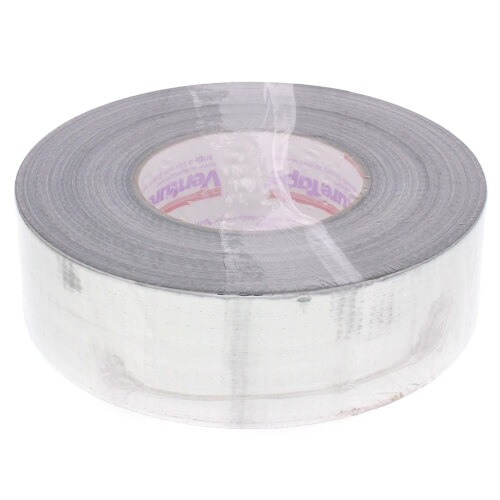 """Silver Metalized Cloth Duct Tape (2"""" x 180') Product Image"""