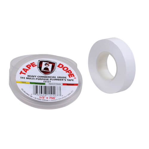 "Multipurpose Heavy Industrial Tape Dope, 1/2"" x 750"" Product Image"