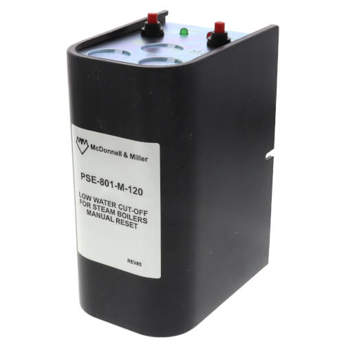 PSE-801-M-120, Electronic, 120V Low Water Cut-Off w/ Manual Reset (Steam) Product Image