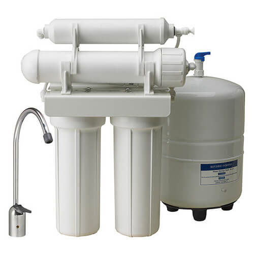 WRO-2550, 4-Stage Reverse Osmosis Drinking Water Filtration System