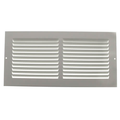 "14"" x 6"" White Baseboard Return Air Grille (674 Series) Product Image"