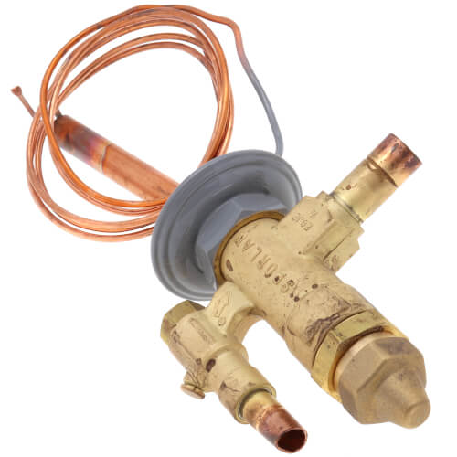 "EGVE-2-C 3/8"" x 1/2"" ODF Thermal Expansion Valve w/ 60"" Capillary (2 Ton) Product Image"