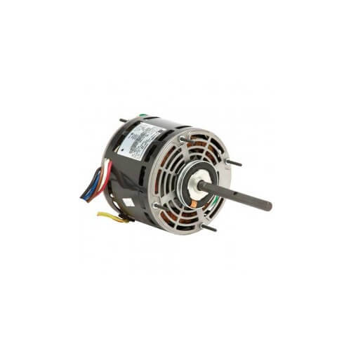 "5.6"" 5 Speed PSC Direct Drive Fan & Blower Motor (115V, 3/4 HP, 1075 RPM) Product Image"