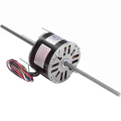 """5-5/8"""" Double Shaft Fan/Blower Motor (115V, 1075 RPM, 1/6 HP) Product Image"""