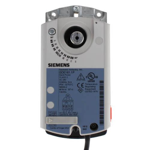 Siemens 171C-10306S 0.5 2W 6.3CV Stainless steel BALL Valve+GDE161.1P