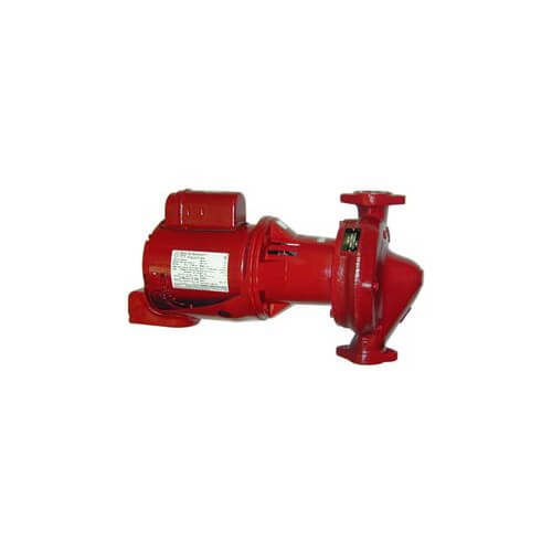 """1/4 HP e601S Series e-60 Bronze Fitted 1"""" x 5-1/4"""" In-Line Pump (1 PH, 115/208-230V) Product Image"""