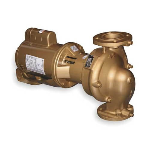 "3/4 HP B615T 2"" x 6-1/4"" In-Line Pump (3 PH, 208-230/460V) Product Image"