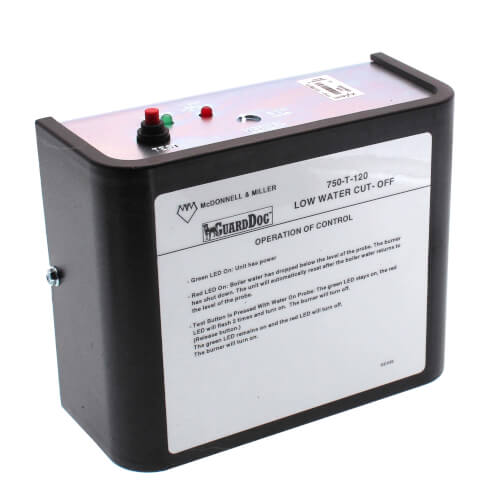 750-T-120, GuardDog Electronic Reset LWCO for Hot Water & Steam Boilers (Automatic) Product Image