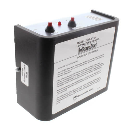 752P-MT-24, GuardDog Electronic Manual Reset Low Water Cutoff w/ Standard Probe (Water) Product Image