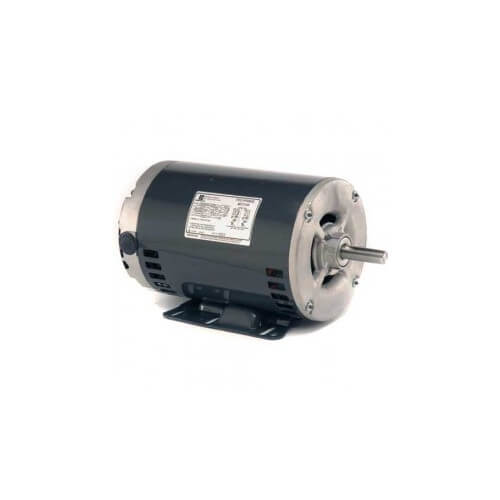 "6.3"" 3 Phase Commercial Belt Drive Blower Motor (208-230/480V, 1.5 HP, 1800 RPM) Product Image"