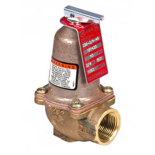 """250-1-125, Relief Valve 1"""" NPT, 125 psi (8.8 kg/cm2) Product Image"""