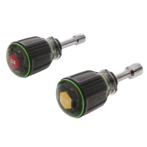 """1-1/2"""" Magnetic Nut Driver, Set of 2 (1/4"""" & 5/16"""") Product Image"""