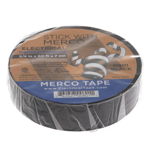 """3/4"""" x 60' Electrical Tape Product Image"""
