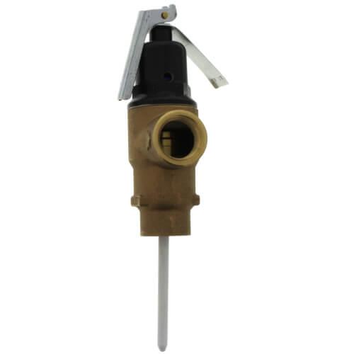 """3/4"""" FNPT x 3/4"""" FNPT Commercial ASME T&P Relief Valve (3"""" Element, 125 psi) Product Image"""
