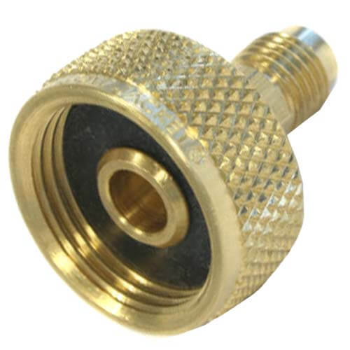 """3/4"""" NPS Cylinder Adapter with 1/4"""" Male Flare Product Image"""