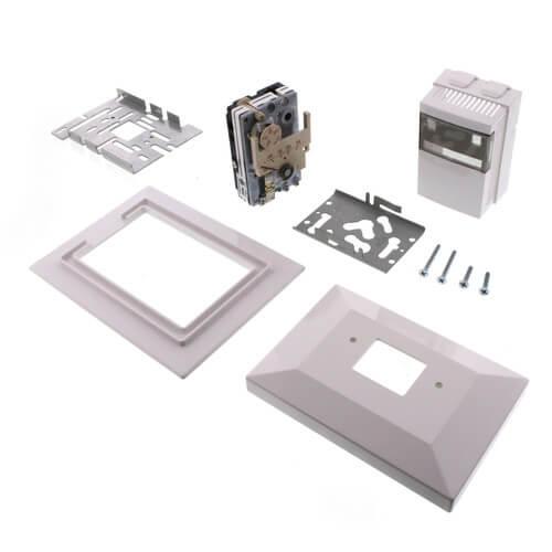 Single Setpoint & Temperature RA Thermostat Retrofit Kit, °F (White) Product Image