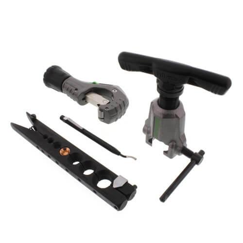 Orbital Flare Kit w/ Tubing Cutter &  Deburring Tool Product Image