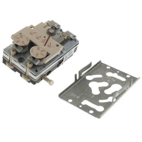 Heat (RA) / Cool (DA) Thermostat Retrofit J/C Chassis (Beige) Product Image