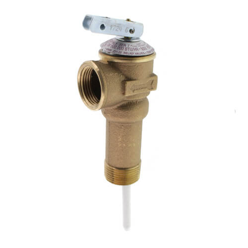 """3/4"""" NCLX-5LX Domestic T&P Relief Valve (Male Inlet) Product Image"""