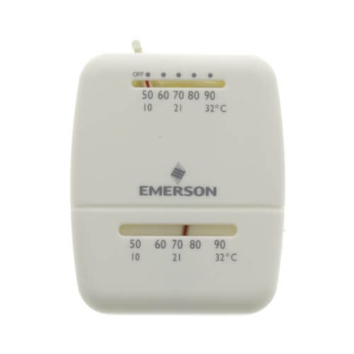 Single-Stage Snap-Action Low voltage room thermostat (with wall mount) Product Image