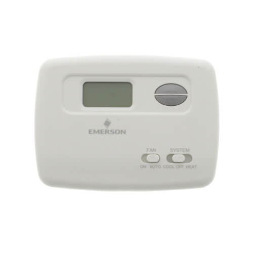 non-programmable thermostat, 24 volt or millivolt system, horizontal  product image