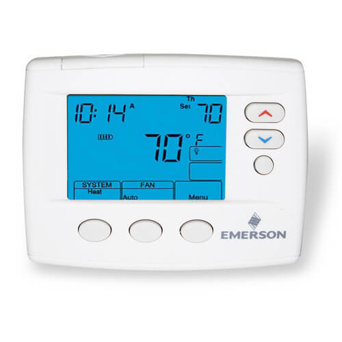 80 Series Programmable, 1H/1C, Blue Digital Thermostat Product Image