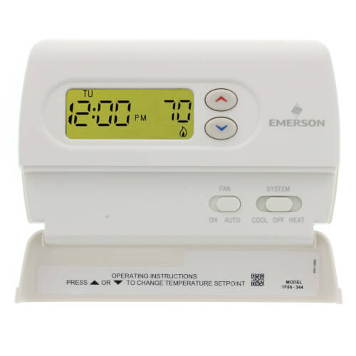 Non-Programmable Thermostat, Hardwired or Battery Powered Product Image