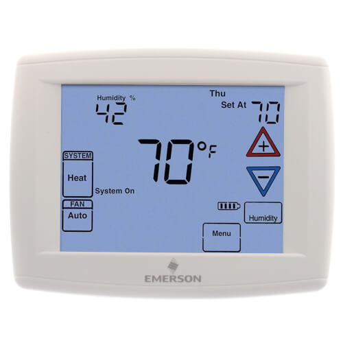 Programmable, 4H/2C, Big Blue Digital Touchscreen Humidity Thermostat Product Image