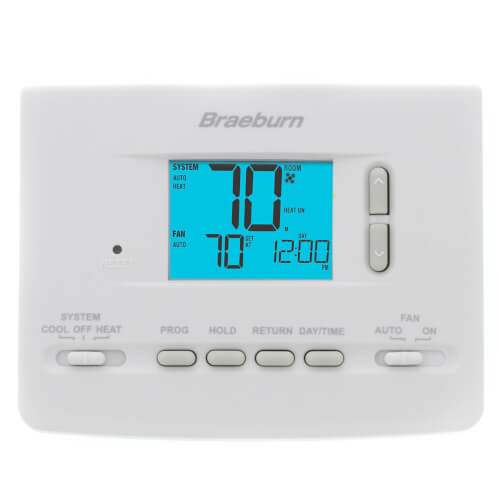 5-2 Day Programmable Thermostat (1 Heat/1 Cool) - Builders Series Product Image