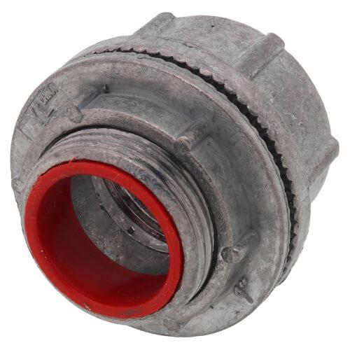 "1"" Zinc Die Cast Rigid Watertight Hub w/ Insulated Throat Product Image"