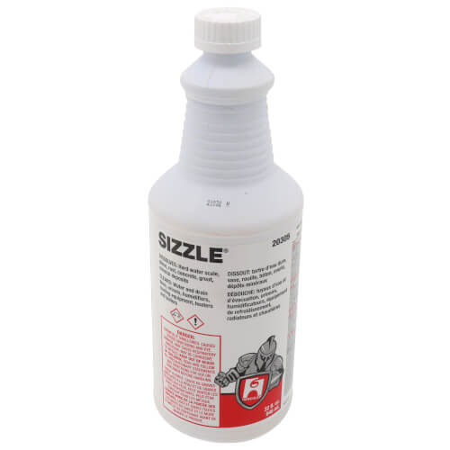 1 Quart - Sizzle Drain & Waste System Cleaner Product Image