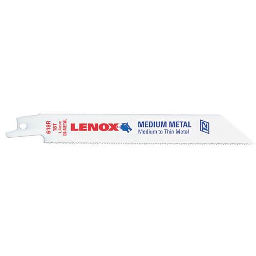 "424R - 4"" Bi-Metal Reciprocating Blade, 5-pack (Metal) Product Image"