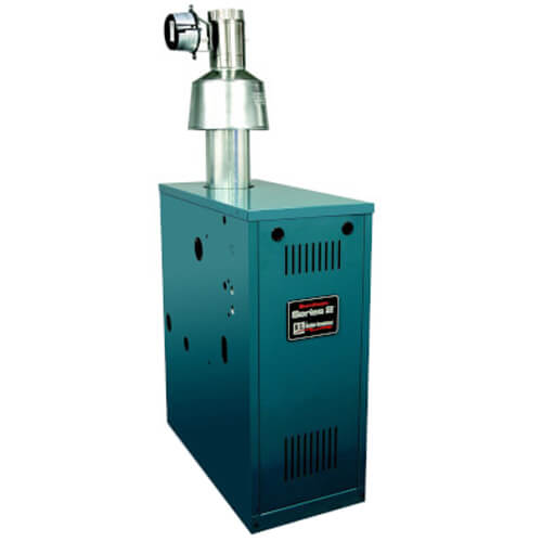 205E 101,000 BTU Output, Gas Fired, Chimney Vented, Cast Iron Water Boiler (Nat Gas) Product Image
