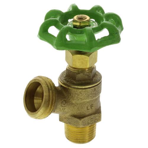 """1/2"""" Boiler Drain (Drain Cock) (Lead Free) Product Image"""