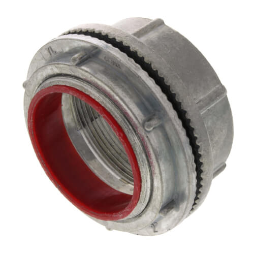 "2"" Zinc Die Cast Rigid Watertight Hub w/ Insulated Throat Product Image"