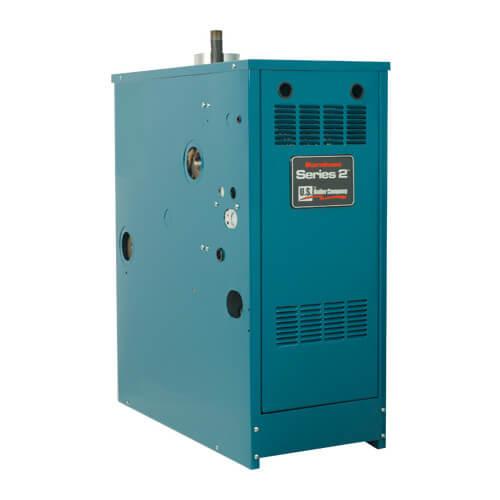 206I 118,000 BTU Output, Electronic Ignition Cast Iron Boiler (Nat Gas) Product Image