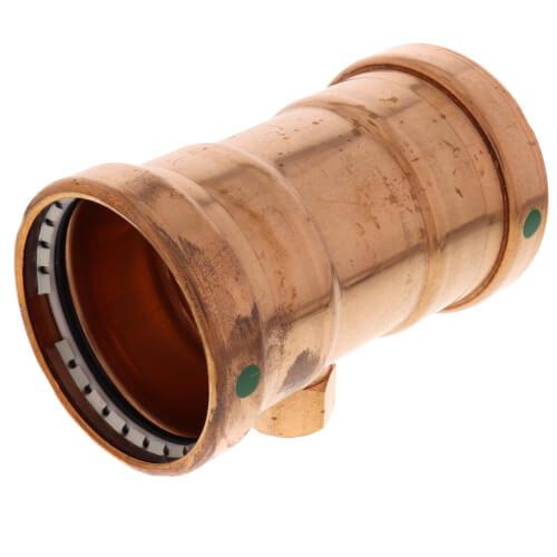 "4"" x 4"" x 2"" ProPress x Female XL-C Copper Tee (Lead Free) Product Image"