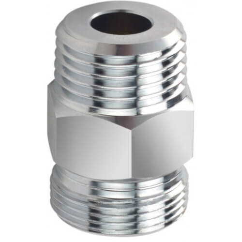 """Hose Adapter, 1/2"""" x 3/8"""" Male NPT Product Image"""
