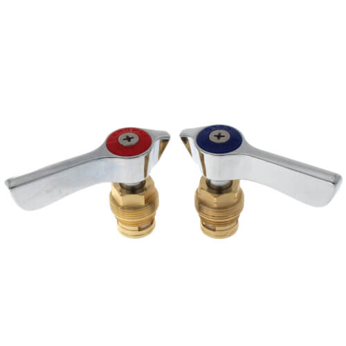 Silver Series 1/4 Turn Ceramic Repair Kit with Silver Series Handles Product Image
