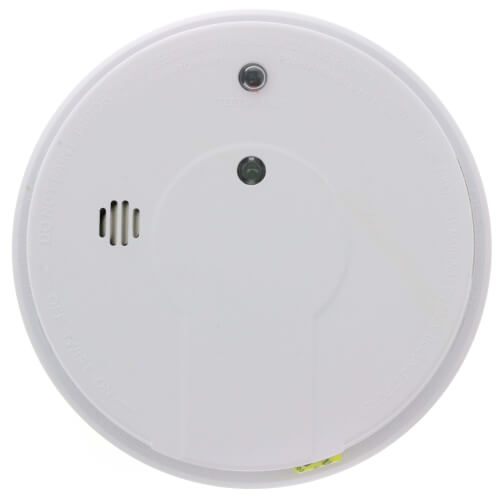 P12040 Hard-Wired Interconnect Photoelectric Smoke Alarm (120v) w/ 9v Battery Backup Product Image