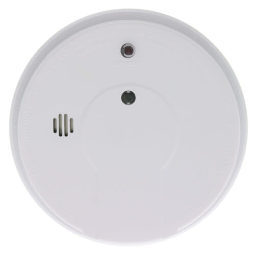 i12040 Hard-Wired Interconnect Ionization Smoke Alarm, Rear Load (120v) w/ Front Pull Tab and 9v Battery Backup Product Image