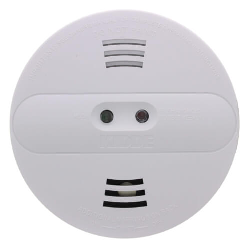 PI2010 Hard-Wired Interconnect Dual Sensor Smoke Alarm (120v) w/ 9v Battery Backup Product Image