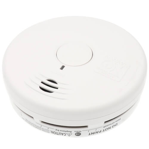 Lithium Battery Operated Photoelectric Hallway Power Smoke Alarm Product Image
