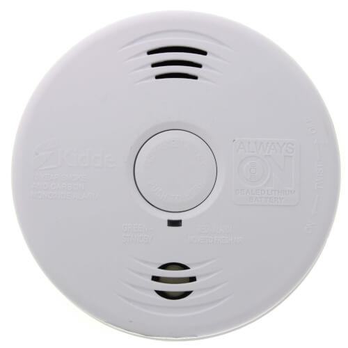 i12010SCO Hardwired Intelligent Ionization Smoke and Carbon Monoxide Alarm (120v) w/ Lithium Battery Backup Product Image