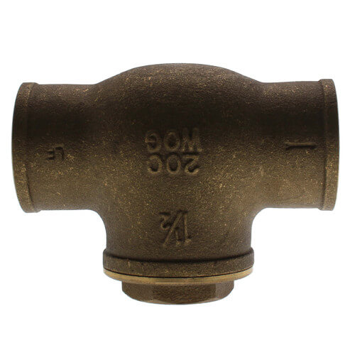 "1-1/2"" Solder Ends Swing Check Valve, Lead Free Product Image"