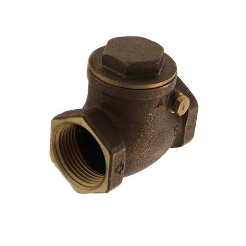 """1"""" Threaded Swing Check Valve, Lead Free Product Image"""