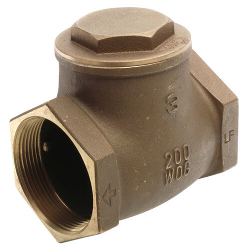 """3"""" Threaded Swing Check Valve, Lead Free Product Image"""