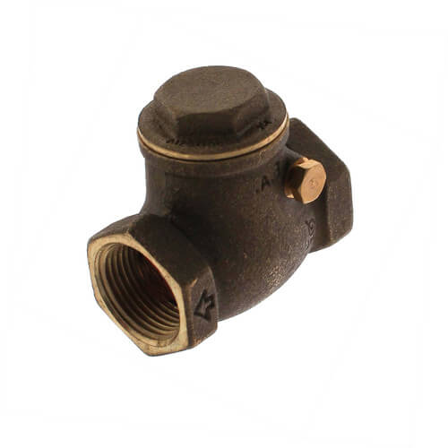 """3/4"""" Threaded Swing Check Valve, Lead Free Product Image"""